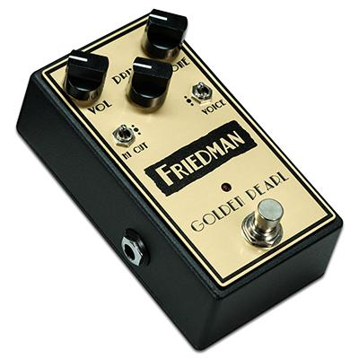 FRIEDMAN Golden Pearl Pedal Pedals and FX Friedman Amplification