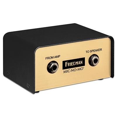FRIEDMAN Mic No Mo Pedals and FX Friedman Amplification