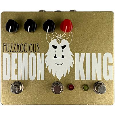 FUZZROCIOUS Demon King w. Momentary Feedback Pedals and FX Fuzzrocious