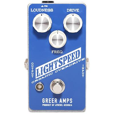 GREER AMPS Lightspeed Organic Overdrive Pedals and FX Greer Amps