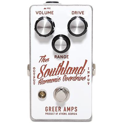 GREER AMPS Southland Harmonic Overdrive Pedals and FX Greer Amps
