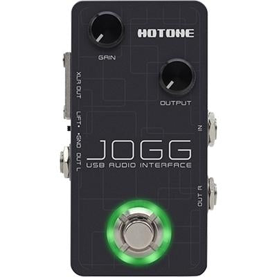 HOTONE Jogg USB Audio Interface Pedals and FX Hotone