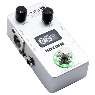 HOTONE Omni IR Cab IR Loaded Pedals and FX Hotone