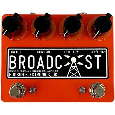 HUDSON ELECTRONICS Dual Broadcast - Deluxe Guitars Orange Pedals and FX Hudson Electronics