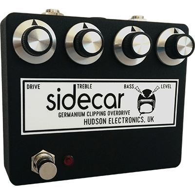 HUDSON ELECTRONICS Sidecar Pedals and FX Hudson Electronics