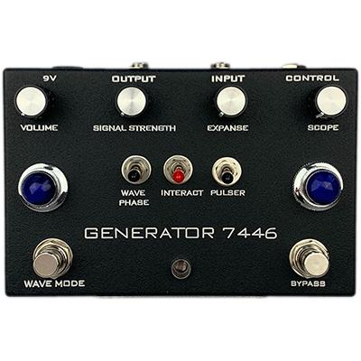 INDUSTRIALECTRIC Generator 7446 - Black Pedals and FX Industrialectric