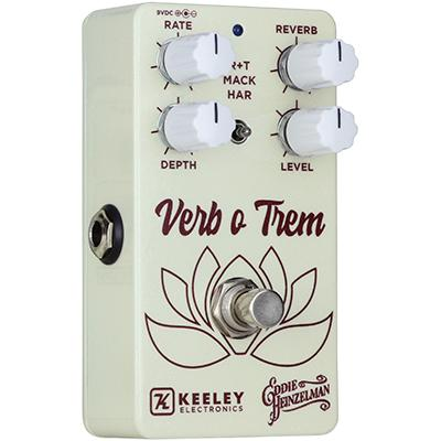 KEELEY EH Verb O Trem Pedals and FX Keeley Electronics