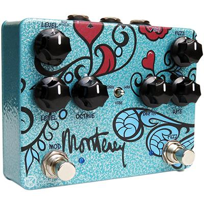 KEELEY Monterey Rotary Fuzz Vibe Pedals and FX Keeley Electronics