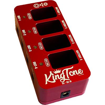 KING TONE Battery Box Pedals and FX King Tone