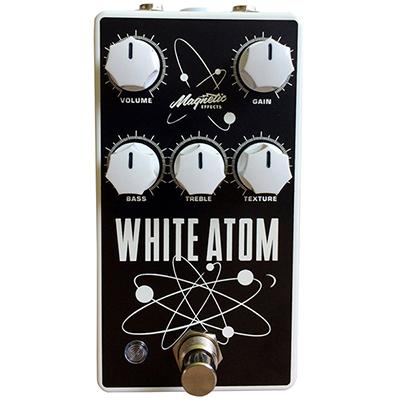 MAGNETIC EFFECTS White Atom Pedals and FX Magnetic Effects