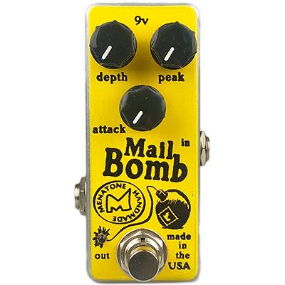 MENATONE Mail Bomb Mini Pedals and FX Menatone