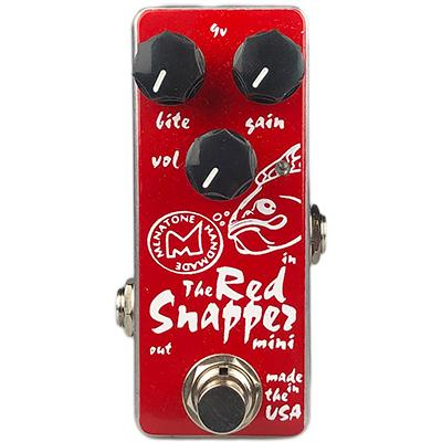 MENATONE Red Snapper Mini Pedals and FX Menatone