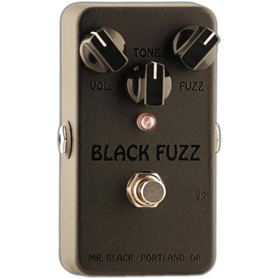 MR BLACK Black Fuzz Pedals and FX Mr Black