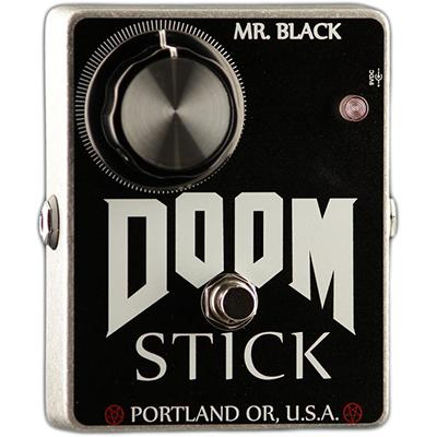 MR BLACK Doom Stick Fuzz Pedals and FX Mr Black