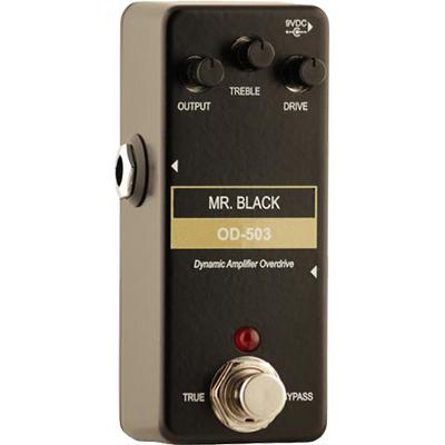 MR BLACK Mini OD-503 Pedals and FX Mr Black