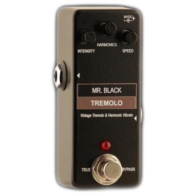 MR BLACK Mini Tremolo Pedals and FX Mr Black