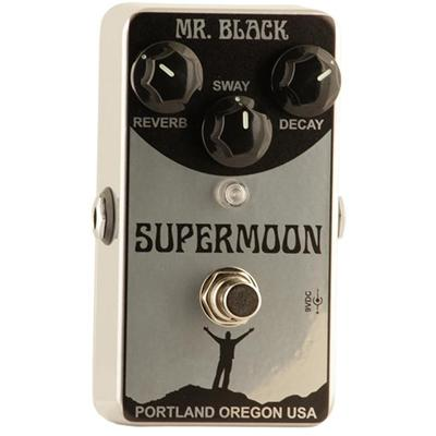 MR BLACK Supermoon Chrome Pedals and FX Mr Black