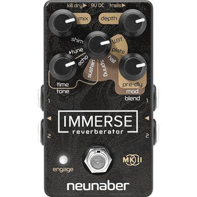 NEUNABER Immerse Reverberator MKII Pedals and FX Neunaber Technology