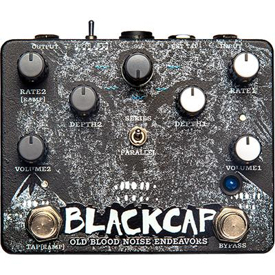 OLD BLOOD NOISE ENDEAVORS Blackcap Harmonic Tremolo Pedals and FX Old Blood Noise Endeavors