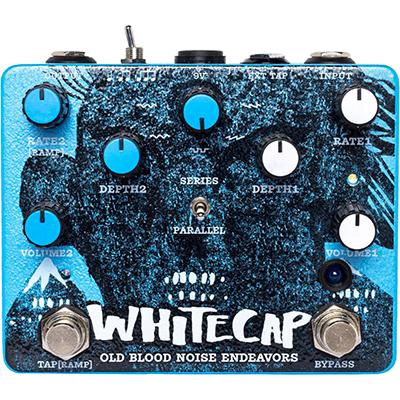 OLD BLOOD NOISE ENDEAVORS Whitecap Asynchronous Dual Tremolo Pedals and FX Old Blood Noise Endeavors