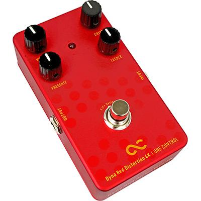 ONE CONTROL BJFE Dyna Red Distortion 4K Pedals and FX One Control