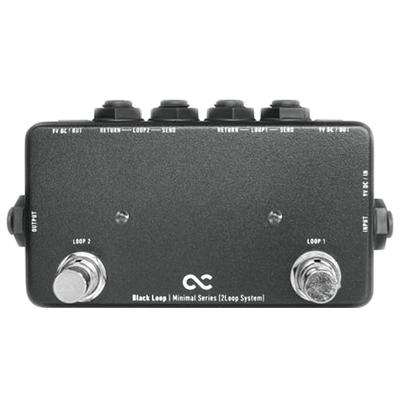 ONE CONTROL Minimal Series Black Loop Pedals and FX One Control