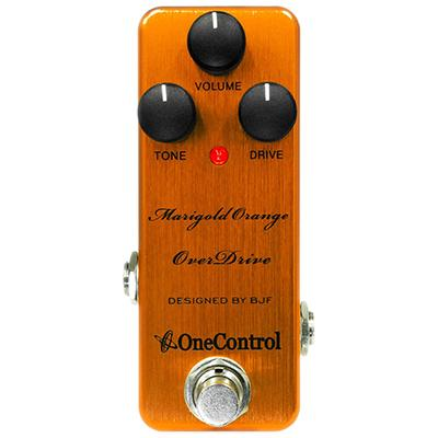 ONE CONTROL Marigold Orange Overdrive Pedals and FX One Control