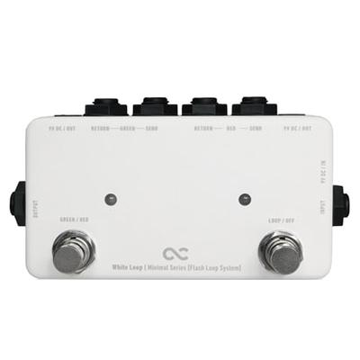 ONE CONTROL Minimal Series White Loop Pedals and FX One Control