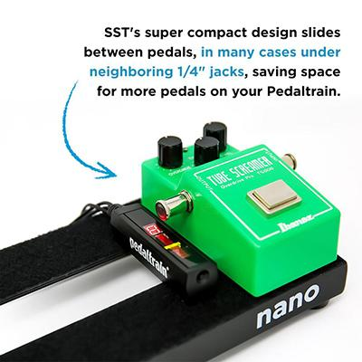 PEDALTRAIN SST Space Saving Tuner Pedals and FX Pedaltrain