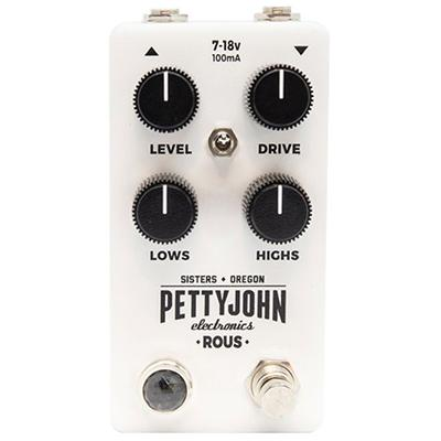 PETTY JOHN ELECTRONICS Rous Pedals and FX Petty John Electronics