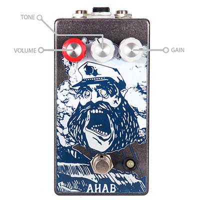 PINEBOX CUSTOMS AHAB V2 Pedals and FX Pinebox Customs