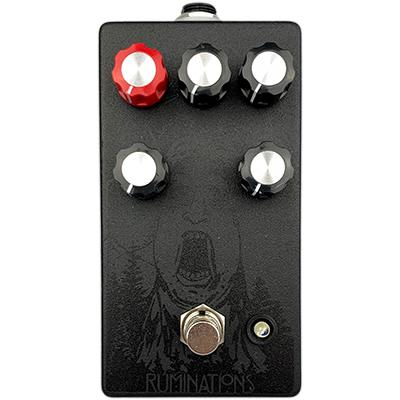 PINEBOX CUSTOMS RUMINATIONS - BLACK Pedals and FX Pinebox Customs