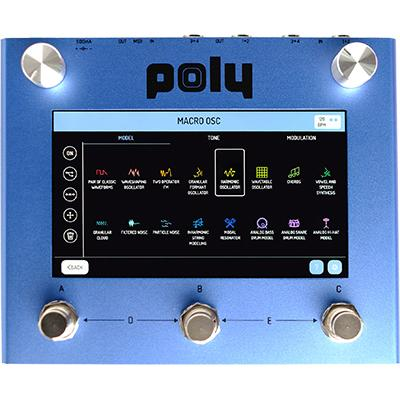 POLY EFFECTS Beebo Pedals and FX Poly Effects