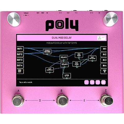 POLY EFFECTS Digit Pedals and FX Poly Effects