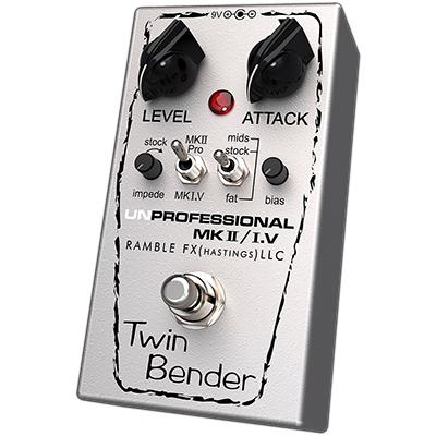 RAMBLE FX Twin Bender 3 Pedals and FX Ramble FX