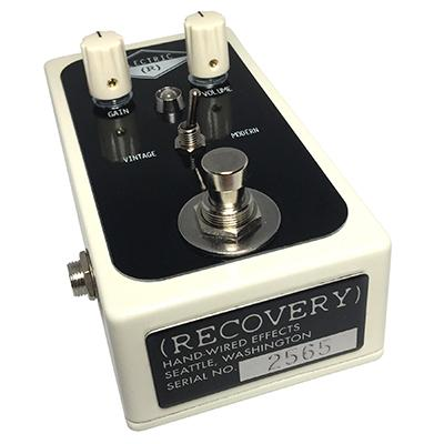 RECOVERY EFFECTS Electric V2 Pedals and FX Recovery Effects