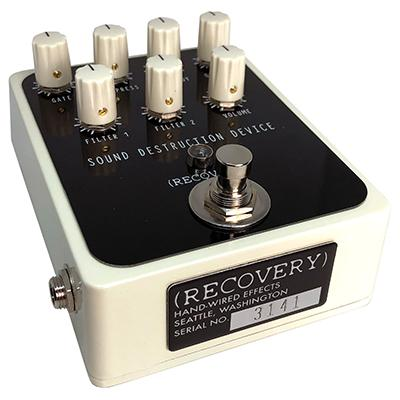 RECOVERY EFFECTS Sound Destruction Device V3 Pedals and FX Recovery Effects