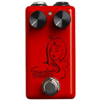 RED WITCH (Seven Sisters) Scarlett Overdrive Pedals and FX Red Witch