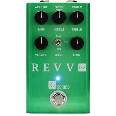 REVV AMPS G2 Green Pedal Pedals and FX Revv Amps