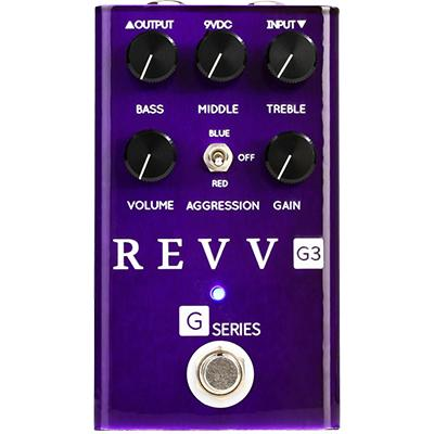 REVV AMPS G3 Purple Pedal Pedals and FX Revv Amps