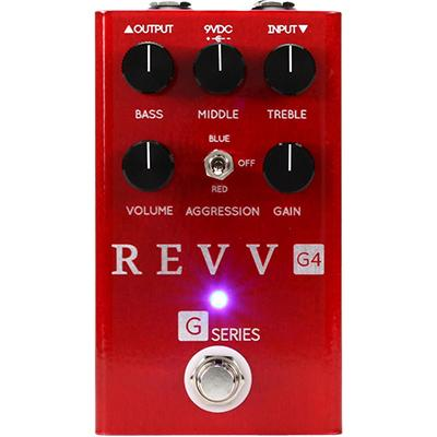 REVV AMPS G4 Red Pedal Pedals and FX Revv Amps