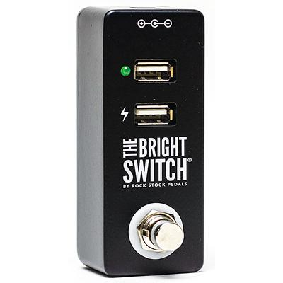 ROCK STOCK PEDALS The Bright Switch - USB Pedals and FX Rock Stock Pedals