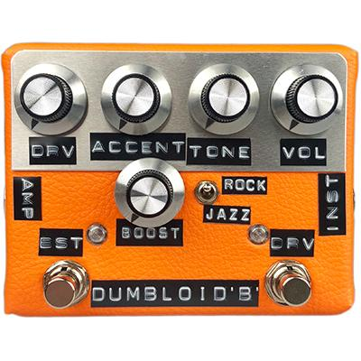 SHINS MUSIC Dumbloid Boost (Orange Tolex) Pedals and FX Shin's Music
