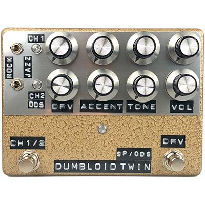 SHINS MUSIC Dumbloid Twin (Gold Hammer) Pedals and FX Shin's Music