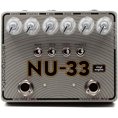 SOLID GOLD FX NU-33 Vinyl Engine Pedals and FX Solid Gold FX