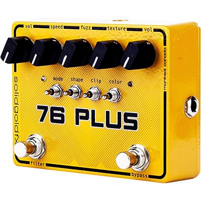 SOLID GOLD FX 76 Plus Pedals and FX Solid Gold FX