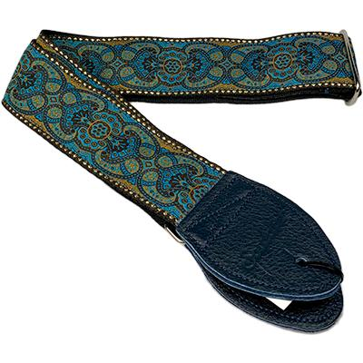 "SOULDIER STRAPS Vintage 2"" - Arabesque Turquoise Accessories Souldier Straps"