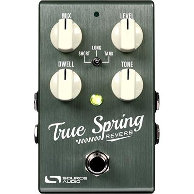 SOURCE AUDIO True Spring Reverb Pedals and FX Source Audio