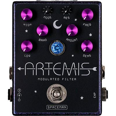 SPACEMAN EFFECTS Artemis LIMITED PURPLE SPARKLE Pedals and FX Spaceman Effects