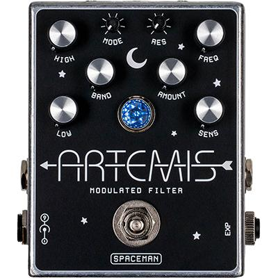 SPACEMAN EFFECTS Artemis Standard Edition Pedals and FX Spaceman Effects